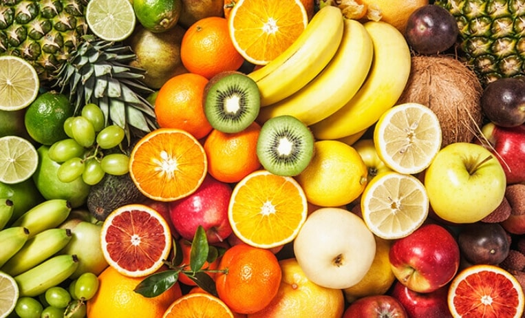 Different fruits to answer the question what fruits can dogs eat