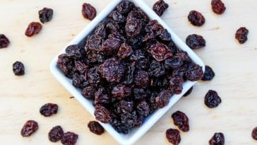 Picture of raisins in order to answer are raisins bad for dogs