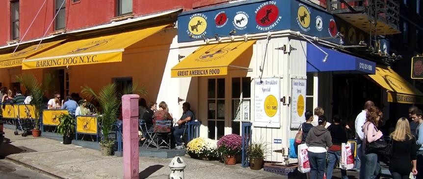 barking dog restaurant