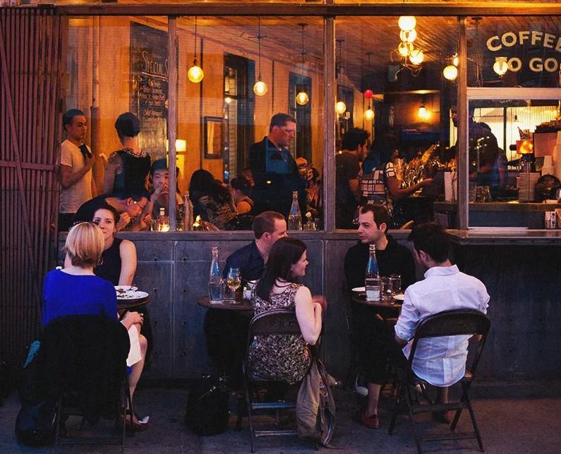 five leaves restaurant in new york