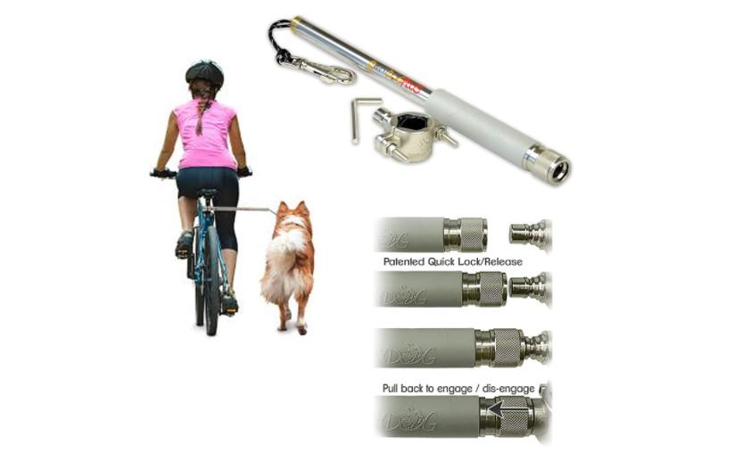 dog bike leash