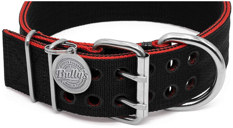Nylon dog collar from high quality materials
