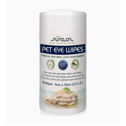 Dog owner considering to get these new dog eye wipes from Amazon